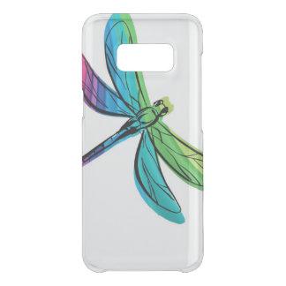 Coque Get Uncommon Samsung Galaxy S8 Libellule d'arc-en-ciel