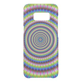Coque Get Uncommon Samsung Galaxy S8 Particules et vagues avec le motif floral