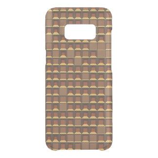 Coque Get Uncommon Samsung Galaxy S8 Pyramide d'or abstraite 3D-pattern de torse nu
