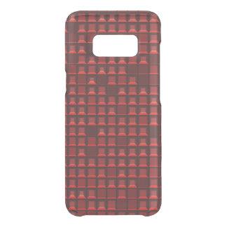 Coque Get Uncommon Samsung Galaxy S8 Pyramide rouge abstraite 3D-pattern de torse nu