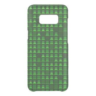 Coque Get Uncommon Samsung Galaxy S8 Pyramide verte abstraite 3D-pattern de torse nu