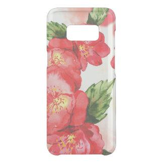 Coque Get Uncommon Samsung Galaxy S8 Roses mous rouges et roses d'aquarelle