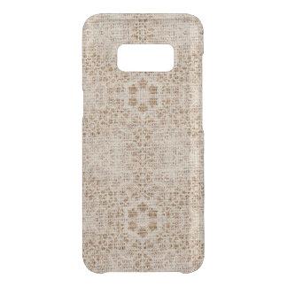 Coque Get Uncommon Samsung Galaxy S8 Toile de jute et dentelle rustiques
