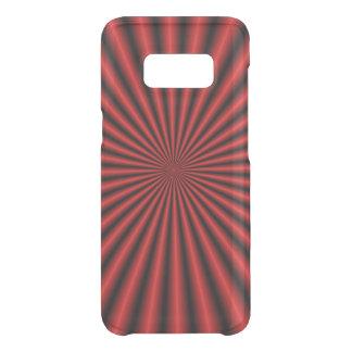 Coque Get Uncommon Samsung Galaxy S8 Trente-deux rayons en rouge