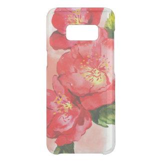 Coque Get Uncommon Samsung Galaxy S8 Trois roses et roses rouges d'aquarelle