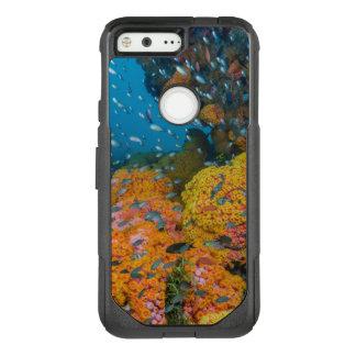 Coque Google Pixel Par OtterBox Commuter Poissons parmi le récif coralien