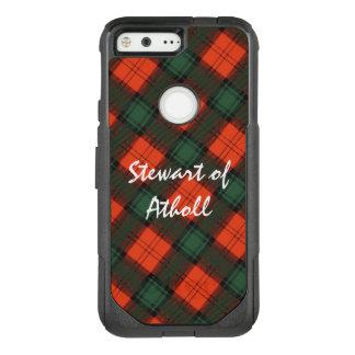 Coque Google Pixel Par OtterBox Commuter Stewart de tartan écossais de kilt d'Atholl