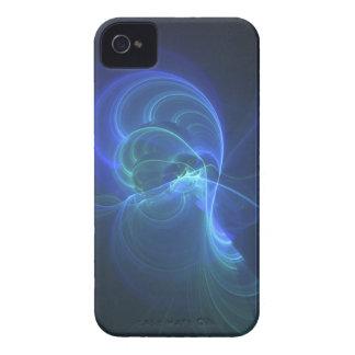 Coque I-phone Infinite blue fractal