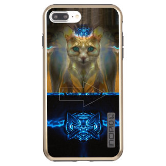 Coque Incipio DualPro Shine iPhone 8 Plus/7 Plus Chat royal