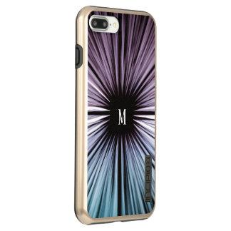 Coque Incipio DualPro Shine iPhone 8 Plus/7 Plus Le bel art divin fait sur commande rayonne la joie
