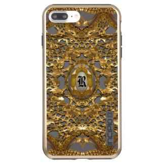 Coque Incipio DualPro Shine iPhone 8 Plus/7 Plus Monogramme assez élégant de Whesters