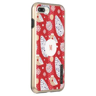 Coque Incipio DualPro Shine iPhone 8 Plus/7 Plus Noël fait sur commande, vacances, décorations