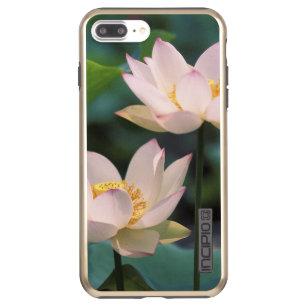 coque iphone 8 plus fleur de lotus