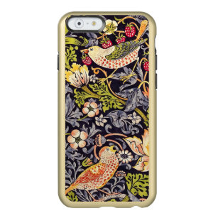 Coque iPhone 6 Incipio Feather® Shine William Morris Strawberry Thief Floral Art nouveau