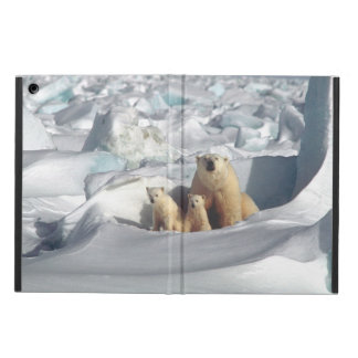 Coque iPad Air Caisse arctique d'air d'iPad de faune d'ours
