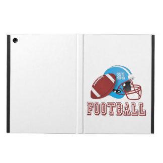 Coque iPad Air Casque de football et boule