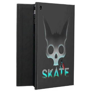 Coque iPad Air Chat urbain de cool de graffiti de patin