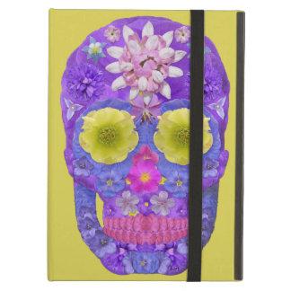 Coque iPad Air Crâne 5 de fleur