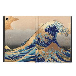 Coque iPad Air Cru de PixDezines, grande vague, 葛飾北斎の神奈川沖浪 de