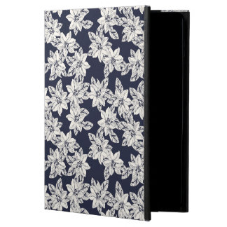 Coque iPad Air Fleur tirée par la main
