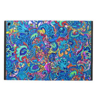 Coque iPad Air Fleurs abstraites colorées mignonnes de peinture