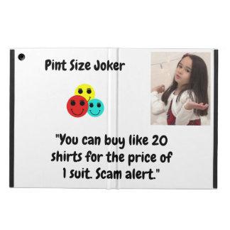 Coque iPad Air Joker de taille de pinte : Prix de chemise et de