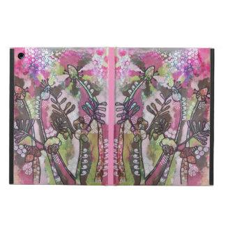 Coque iPad Air La couverture fantaisie de plantain et de vesce