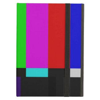 Coque iPad Air La TV barre l'essai de couleur