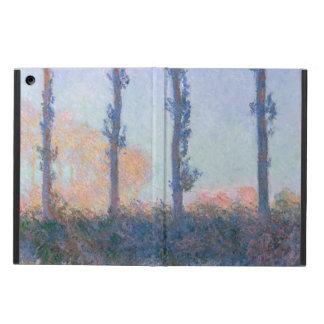 Coque iPad Air Les quatre arbres par Claude Monet