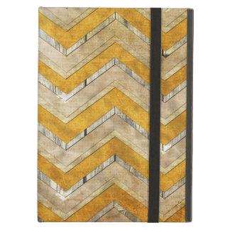 Coque iPad Air Marbre frais impressionnant en bois de motif de zi