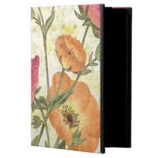 Coque iPad Air Marguerites colorées
