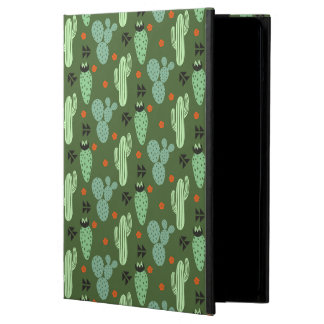 Coque iPad Air Motif abstrait de désert de cactus de hippie