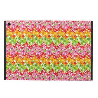 Coque iPad Air Motif de zigzag coloré mignon d'été