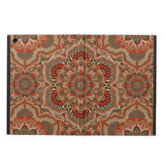 Coque iPad Air Motif floral ethnique abstrait coloré de mandala