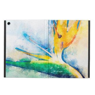 Coque iPad Air Oiseau d'art d'aquarelle de paradis
