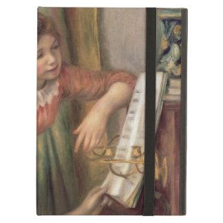 Coque iPad Air Pierre jeunes filles de Renoir un | au piano