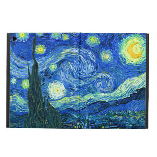 Coque iPad Air PixDezines Van Gogh Night/St étoilé. Remy