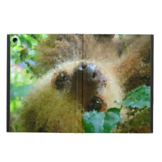 Coque iPad Air Poly animaux - paresse