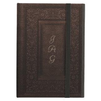 Coque iPad Air Vieille couverture de livre classique en cuir de