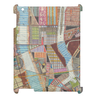 Coque iPad Carte moderne de New York II