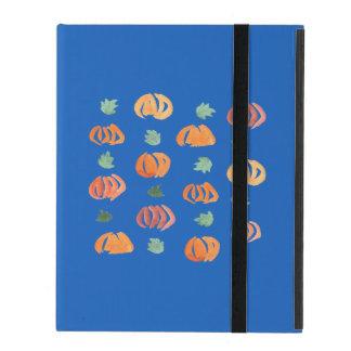 Coque iPad Citrouilles avec le cas de l'iPad 2/3/4 de feuille