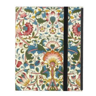 Coque iPad Conception florale victorienne