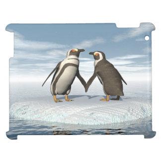 Coque iPad Couples de pingouins