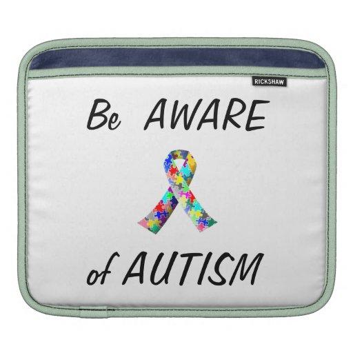 Coque ipad/couverture d'autisme….Rendez-vous compt Poches Pour iPad