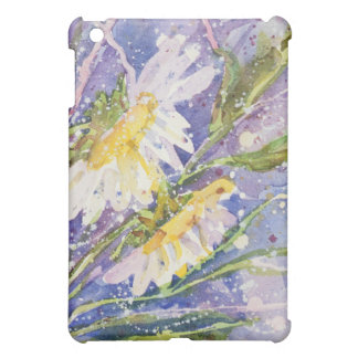 Coque ipad d'aquarelle de marguerite étui iPad mini