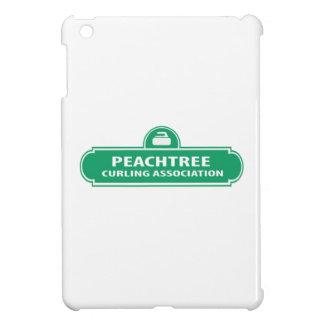 Coque ipad de bordage de logo de Peachtree