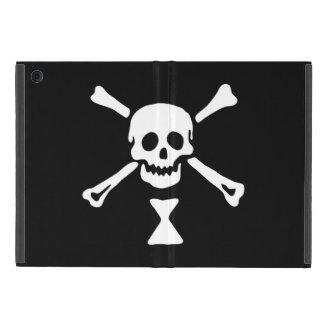 Coque ipad de drapeau de pirate de jolly roger