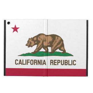 Coque ipad de drapeau d'état de la Californie