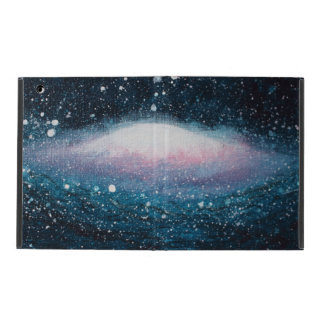 Coque ipad de galaxie - conception peinte par
