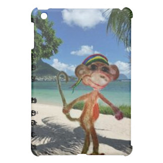 Coque ipad de plage de singe